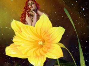 цветок-нарцисс