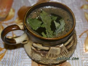 кофе с мятой