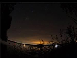 закат и ночь