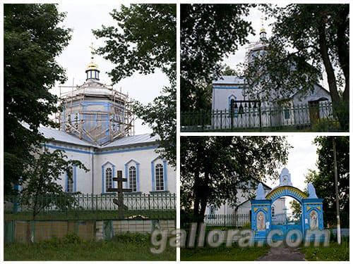 Свято-Вознесенская церковь в Новой Басани