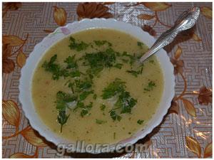 Блюда из капусты кольраби. Суп пюре из кольраби.
