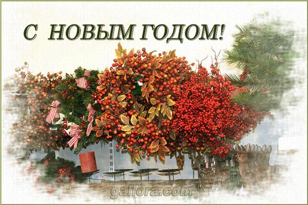 Новогодняя открытка 05