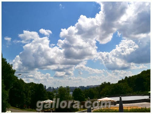 летние облака